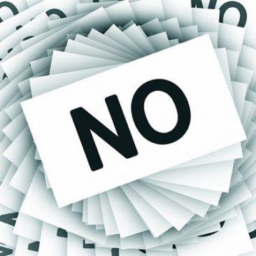 Vikten av att kunna säga nej